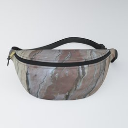 TEXTURES -- Fern-Leaved Ironwood Bark Fanny Pack