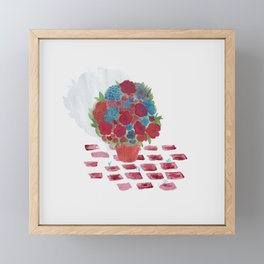 Flowerpot Framed Mini Art Print