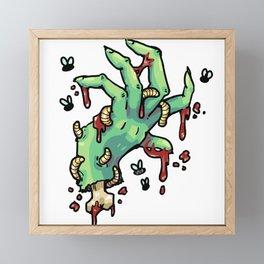 Need a Hand? Framed Mini Art Print