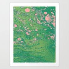Green Dreams Art Print