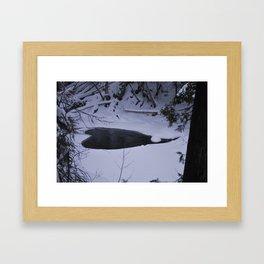 natures heart  Framed Art Print