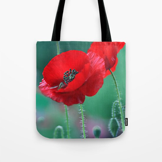 Poppies (light)2. Tote Bag