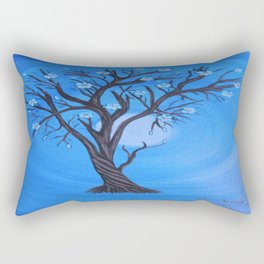 In the moonlight Rectangular Pillow
