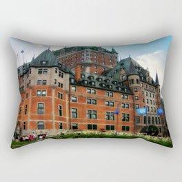 Château Frontenac Rectangular Pillow