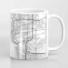 Minimal City Maps - Map Of Buffalo, New York, United States Coffee Mug