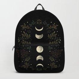 Moonlight Garden - Olive Green Backpack