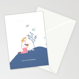 Love Is Not Self-Seeking Stationery Cards
