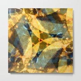 Sea Glass Waltz Metal Print