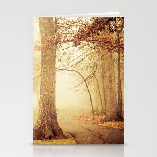 I Heard Whispering in the Woods Stationery Cards