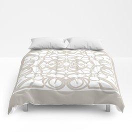 Gender Equality Mandala - Neutral Soft Comforters