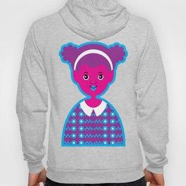 Girl 22 Pink and Purple Alien Hoody