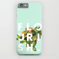 Flourish #society6 #buyart #typography #artprint iPhone 6 Slim Case