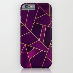 Purple Stone iPhone 6 Slim Case
