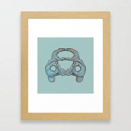 New Beetle Framed Art Print