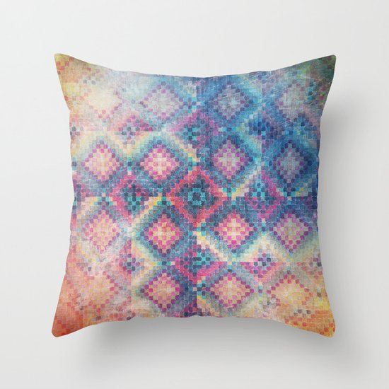 c square Throw Pillow
