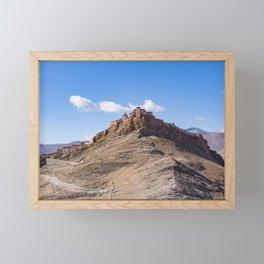 Gyantse Fort - Tibet Framed Mini Art Print
