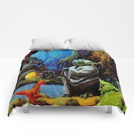 Swamp Dwelling Mystical Knight Comforters