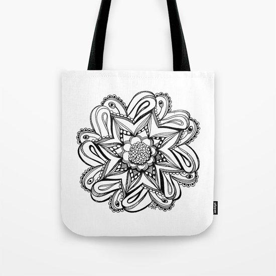 Zendala ornate Tote Bag