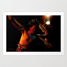Sioux Nation Eagle Dancers Art Print