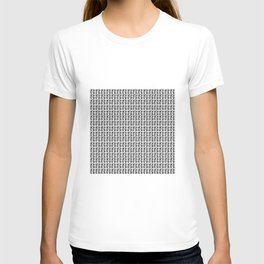 """Halloween Black And White """"Boo"""" Ghost T-shirt"""