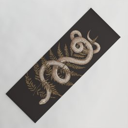 The Snake and Fern Yoga Mat