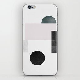 Black ball iPhone Skin