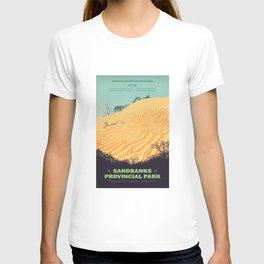 Sandbanks Provincial Park Poster T-shirt