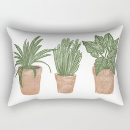 House Plants Rectangular Pillow