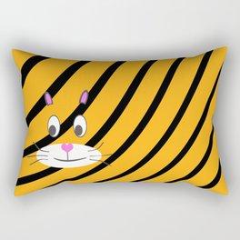 Terry the Tiger Rectangular Pillow