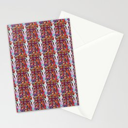 pattern colorfull Stationery Cards