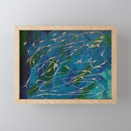 My world view Framed Mini Art Print