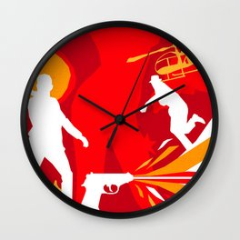 James Bond Golden Era Series :: From Russia with Love Wall Clock