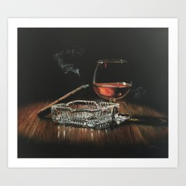 After Hours IV Art Print