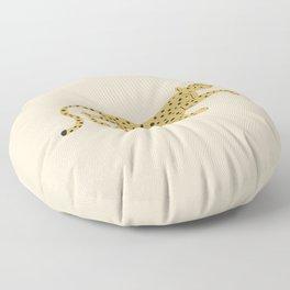le guépard Floor Pillow
