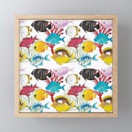 Coral Reef #1 Framed Mini Art Print