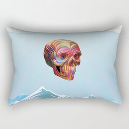 Skull Passes By Rectangular Pillow