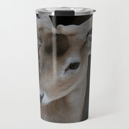 Young deer, portrait Travel Mug