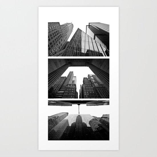 New York Triptik Art Print