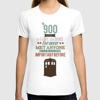doctor who T-shirts featuring Doctor Who by Ashley