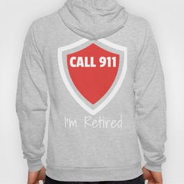 Retired Fire Fighter Retirement Gift design Hoody