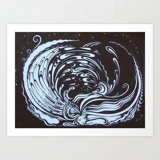 """""""Good Tidings"""" Art Print"""