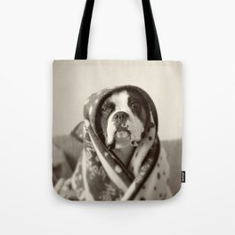 Obi Wan (Buck the world's most lovable boxer dog) Tote Bag