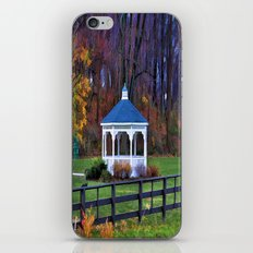White Gazebo iPhone & iPod Skin