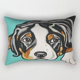 Greater Swiss Mountain Dog Puppy Rectangular Pillow