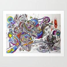 Primitives Under the Same Heaven Art Print