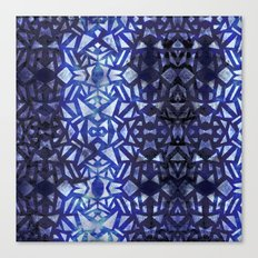 Ari's Blue Canvas Print