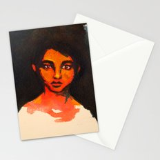 Little Red without her hood Stationery Cards
