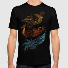 Legendary Birds LARGE Black Mens Fitted Tee