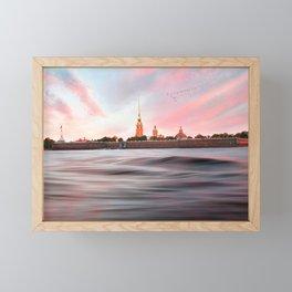 Peter & Paul Fortress Framed Mini Art Print