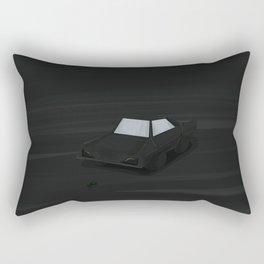 My Car Blac Rectangular Pillow